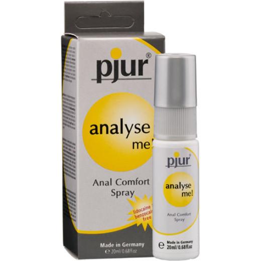 Πρωκτικό Σπρέι Λίπανσης Amalyze Me Anal Comfort Spray 20ml από την Κατηγορία Ερωτικά Λιπαντικά, Υγεία & Διέγερση