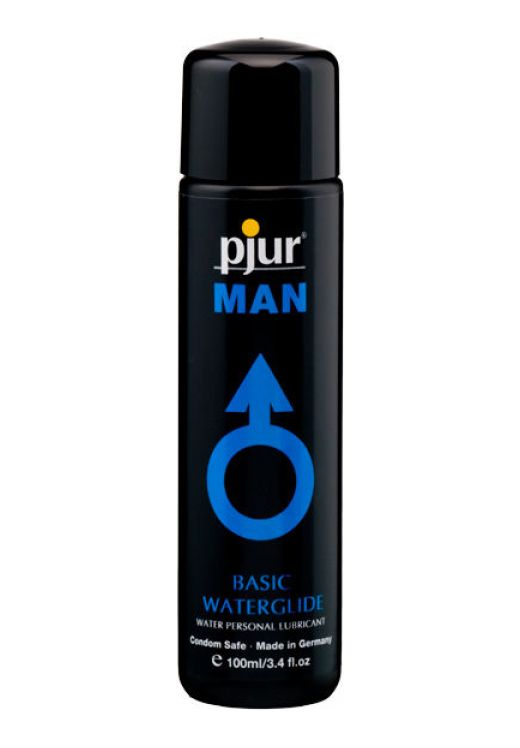 Ερωτικό Λιπαντικό Man Basic Water Glide 100 ml από την Κατηγορία Ερωτικά Λιπαντικά, Υγεία & Διέγερση