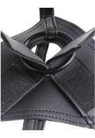 Στραπόν Με Ομοίωμα Strap-On Harness 9 Cock Black 23,5cm από την Κατηγορία Sex Toys, Strap-On Kits