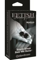 Κολπικές Μπάλες Black Glass Ben-Wa Balls Medium Limited Edition από την Κατηγορία Sex Toys, Κολπικές Μπάλες Kegel