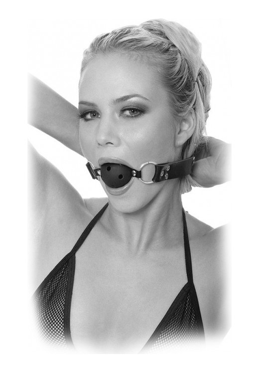 Φίμωτρο Breathable Ball Gag Limited Edition Black από Φίμωτρα