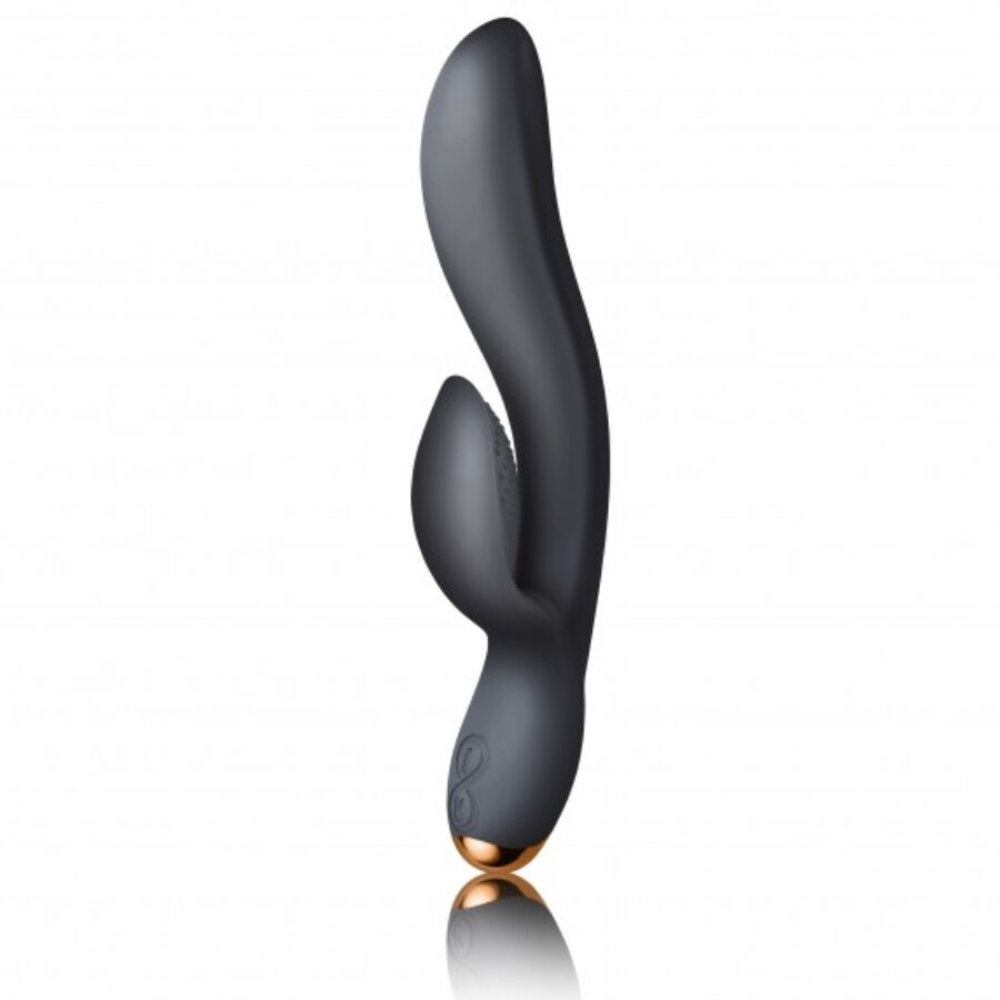 Δονητής Rabbit Rocks-Off Regala Black 21cm