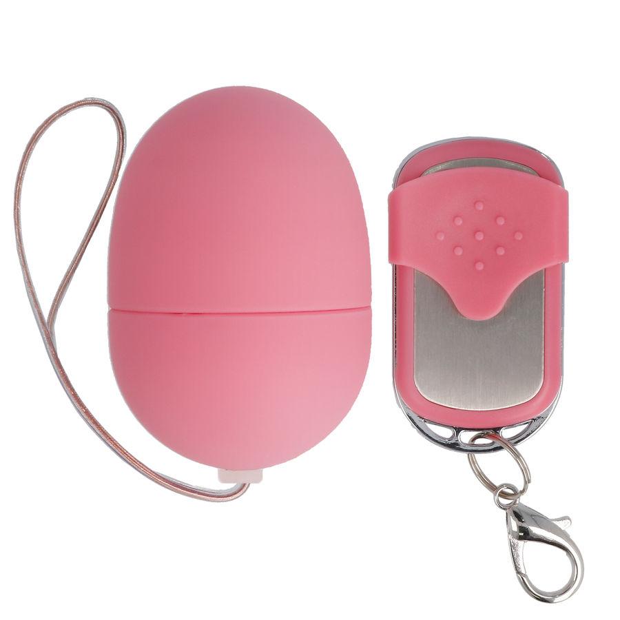 Ασύρματο Ερωτικό Αυγό Spirit Vibrating Small Egg Pink 4,8cm