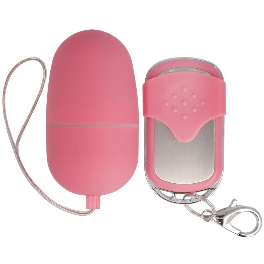 Ασύρματο Ερωτικό Αυγό Spirit Vibrating Medium Egg Pink 6cm