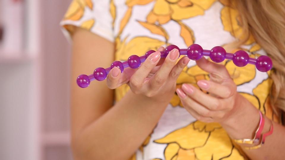 Πρωκτικές χάντρες Jambo Thai Beads Purple - Πρωκτικές Μπίλιες